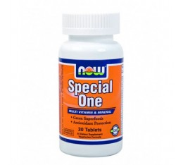 NOW - Special One (Multiple) with Green Superfoods / 30 Tabs.