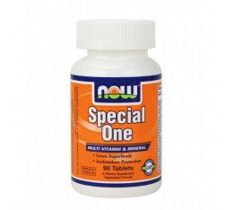 NOW - Special One (Multiple) with Green Superfoods / 90 Tabs.