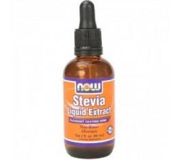 NOW - Stevia Liquid Extract / 57 ml.  Хранителни добавки, Естествени подсладители, На билкова основа