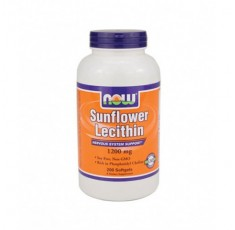 NOW - Sunflower Lecithin (Non-GMO) 1200mg. / 200 Softgels