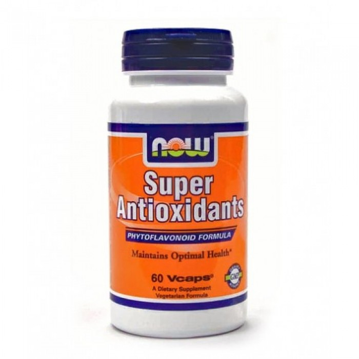 NOW - Super Antioxidants / 60 Caps.