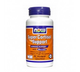NOW - Super Cortisol Support with Relora / 90 VCaps. Хранителни добавки, Здраве и тонус