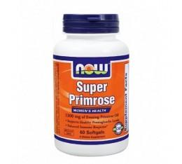 NOW - Super Primrose 1300mg. / 60 Softgels Хранителни добавки, Мастни киселини, Масло от Безстъблена Иглика