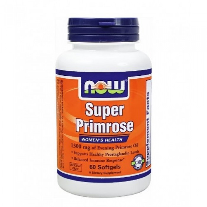 NOW - Super Primrose 1300mg. / 60 Softgels