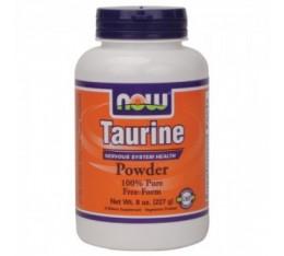 NOW - Taurine Powder / 227 gr. Хранителни добавки, Аминокиселини, Таурин