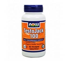 NOW - TestoJack 100 ™ / 60 VCaps. Хранителни добавки, Стимулатори за мъже, ZMA