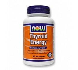 NOW - Thyroid Energy ™ / 90 VCaps. Хранителни добавки, Здраве и тонус