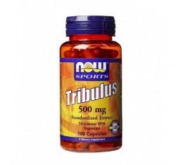 NOW - Tribulus Terrestris 500 mg. / 100 Caps. Хранителни добавки, Стимулатори за мъже, Трибулус-Терестрис
