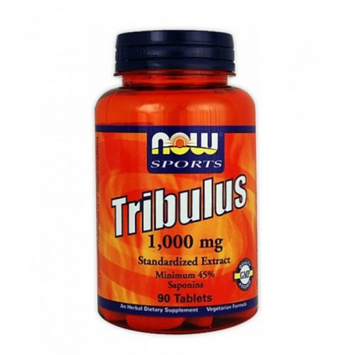 NOW - Tribulus Terrestris 1000 mg. / 90 Tabs.