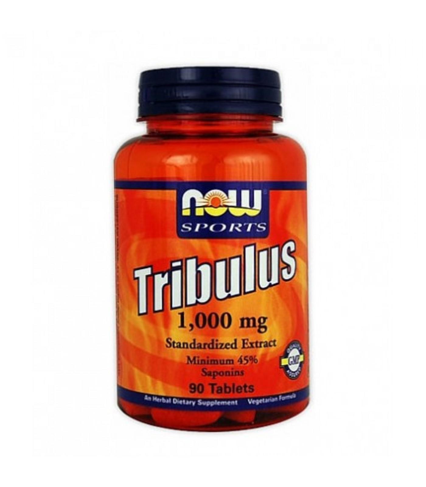 NOW - Tribulus Terrestris 1000 mg. / 90 Tabs.
