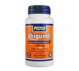 NOW - Ubiquinol 100mg. / 60 Softgels Хранителни добавки, Антиоксиданти, Коензим Q10