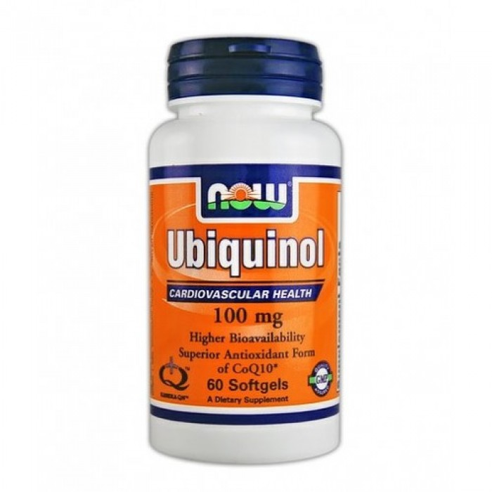 NOW - Ubiquinol 100mg. / 60 Softgels