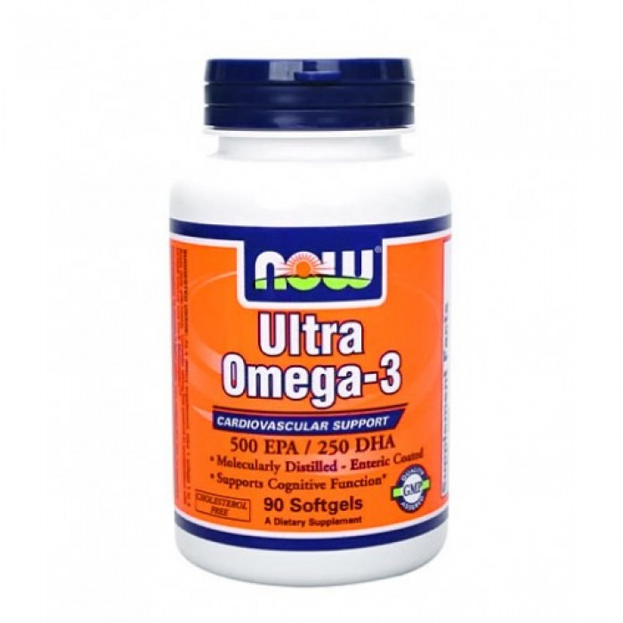 NOW - Ultra Omega 3 Fish Oil / 90 Softgels
