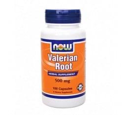 NOW - Valerian Root 500mg. / 100 Caps. Хранителни добавки, На билкова основа