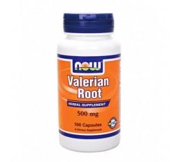 NOW - Valerian Root 500mg. / 100 Caps.