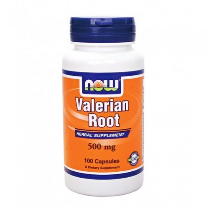 NOW - Valerian Root 500mg. / 100 Caps.