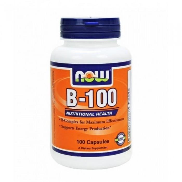 NOW - Vitamin B-100 / 100 Caps.