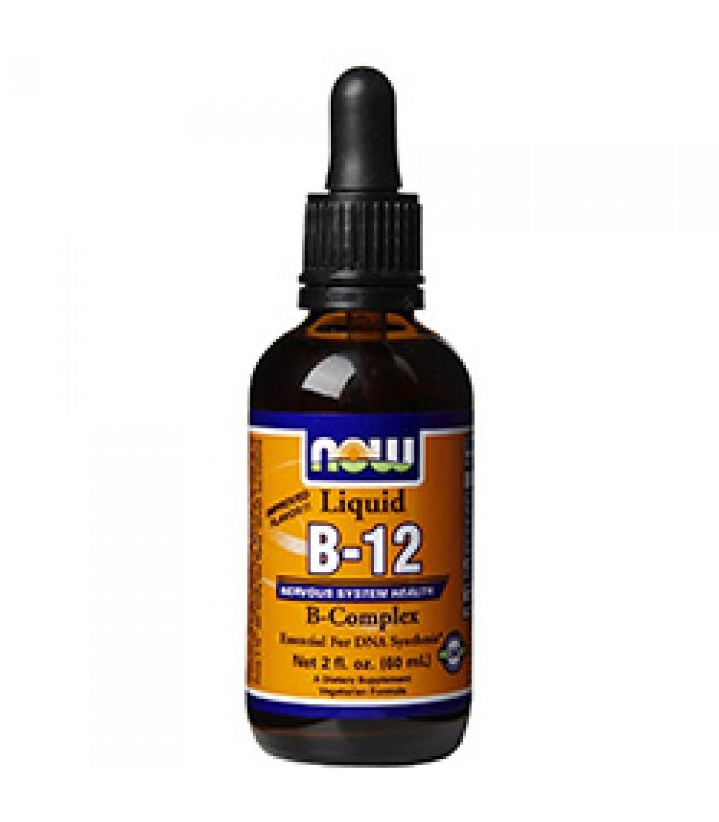 NOW - B-12 Complex Liquid / 60 ml.
