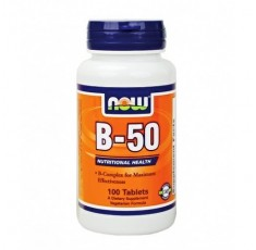 Now - Vitamin B-50 / 100 caps.