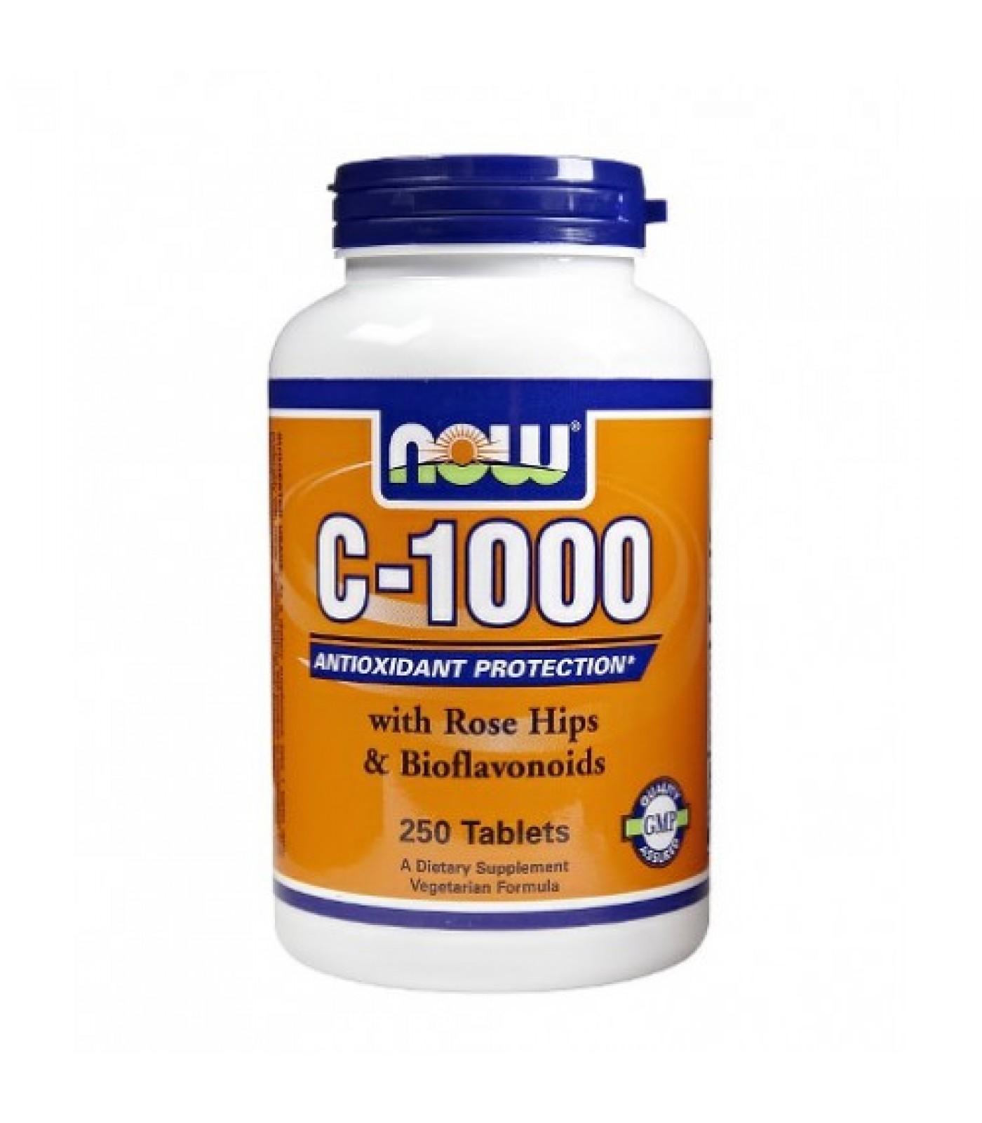 NOW - Vitamin C-1000 / 250 Tabs.