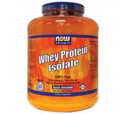 NOW - Whey Protein Isolate / 2268 gr Хранителни добавки, Протеини, Суроватъчен протеин