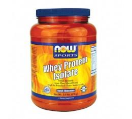 NOW - Whey Protein Isolate / 816 gr Хранителни добавки, Протеини, Суроватъчен протеин
