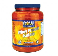 NOW - Whey Protein Isolate / 816 gr