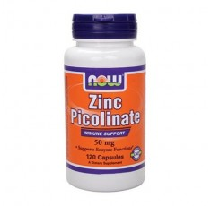 NOW - Zinc Picolinate 50mg. / 120 Caps.