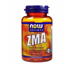 NOW - ZMA Sports Recovery / 90 caps. Хранителни добавки, Стимулатори за мъже, ZMA