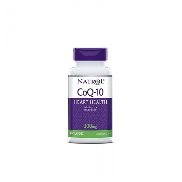 Natrol CoQ-10 200mg / 45softgels