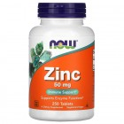 NOW - Zinc Gluconate 50mg / 250 tabs