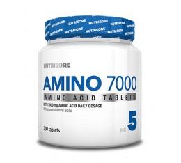 Nutricore - Amino 7000 / 300 Tabs. Хранителни добавки, Аминокиселини, Комплексни аминокиселини