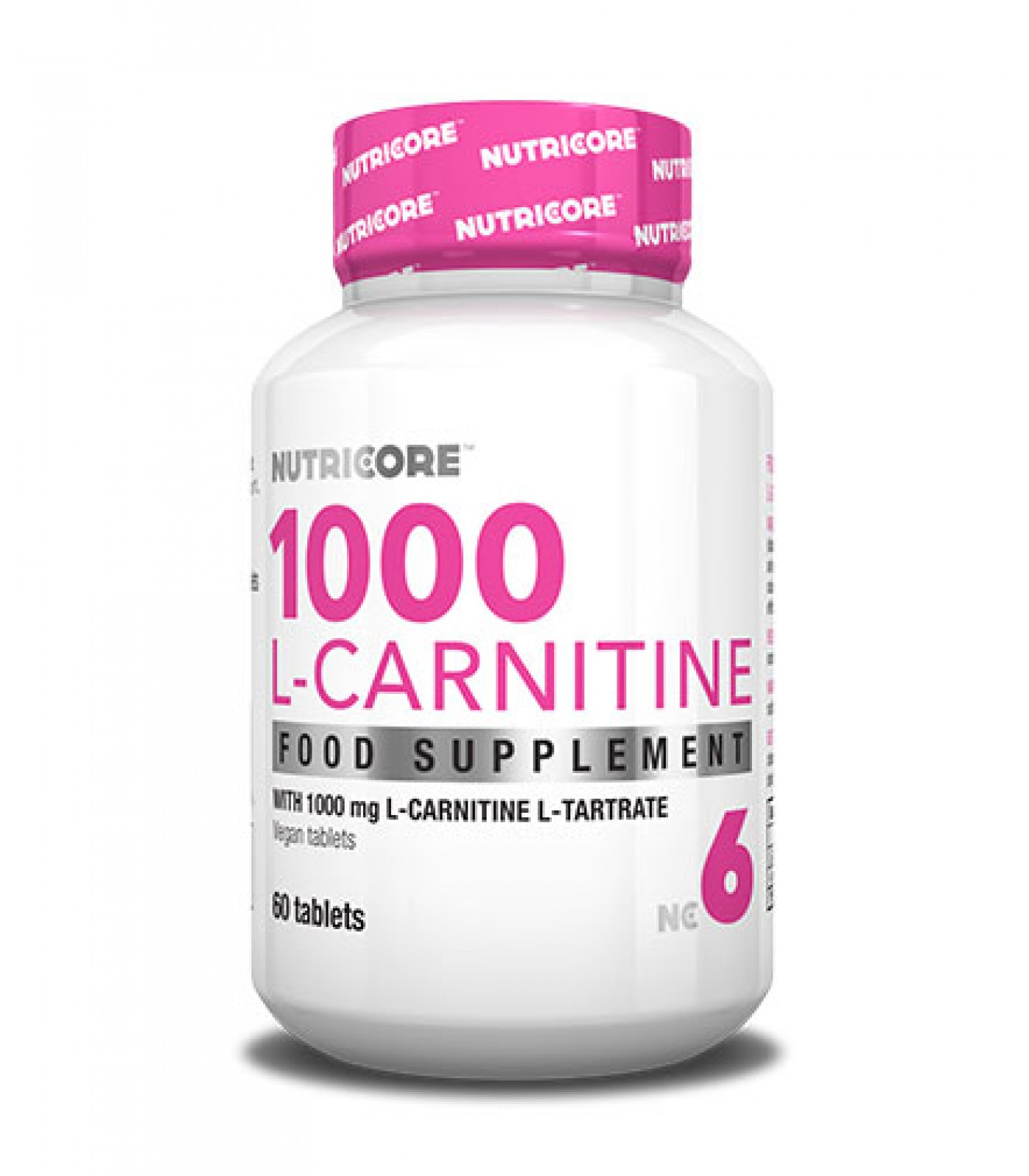 Nutricore - 1000 L-Carnitine / 60 Tabs.