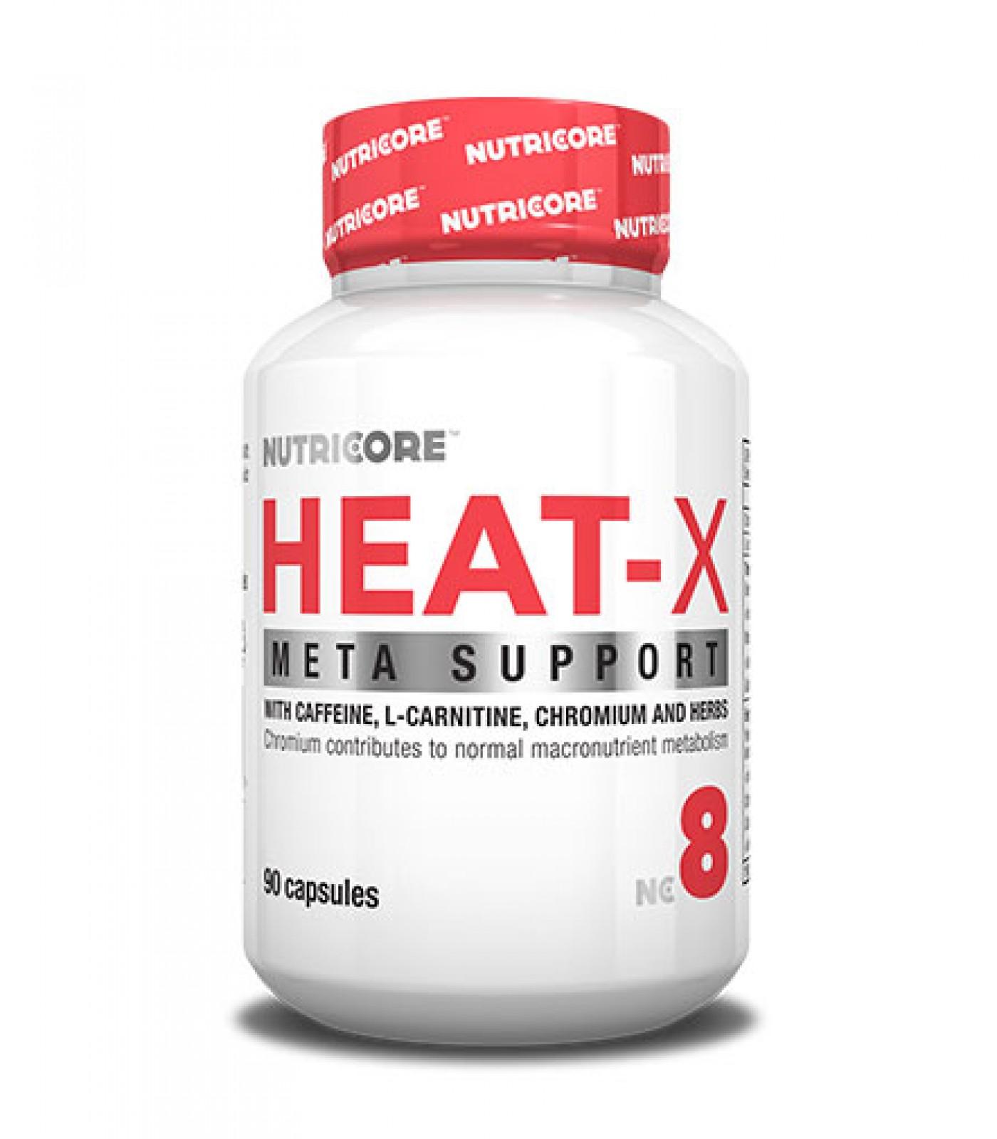Nutricore - Heat-X / 90 Caps.