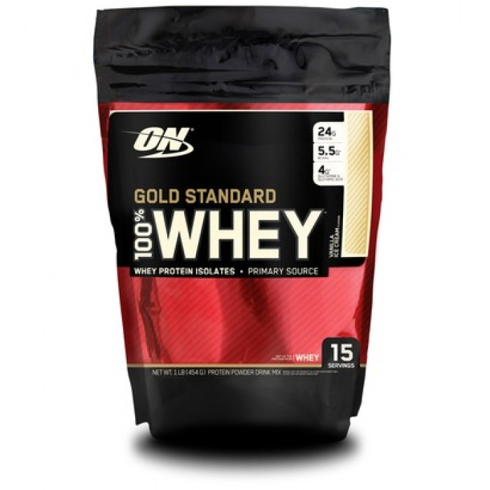 Optimum Nutrition - 100% Whey Gold Standard / 454 gr.​