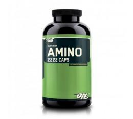 Optimum Nutrition - Amino 2222 / 300 caps. Хранителни добавки, Аминокиселини, Комплексни аминокиселини