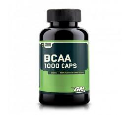 Optimum Nutrition - BCAA Mega-Size 1000mg. / 400 Caps. Хранителни добавки, Аминокиселини, Разклонена верига (BCAA), Хранителни добавки на промоция