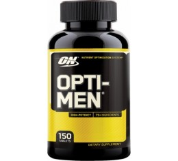 Optimum Nutrition - Opti Men / 240 tabs. Хранителни добавки, Витамини, минерали и др., Мултивитамини, Формули за мъже
