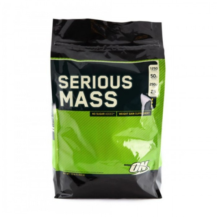 Optimum Nutrition - Serious Mass / 12lb.​