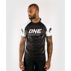 Тениска - Venum X ONE FC Dry Tech T-shirt - White/Black​