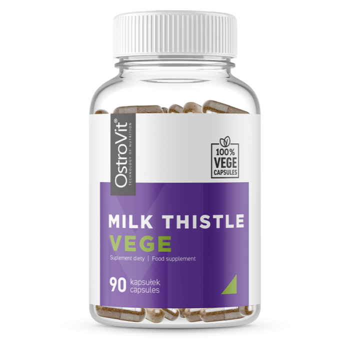 OstroVit Milk Thistle 700 mg / Vege - 90 капсули