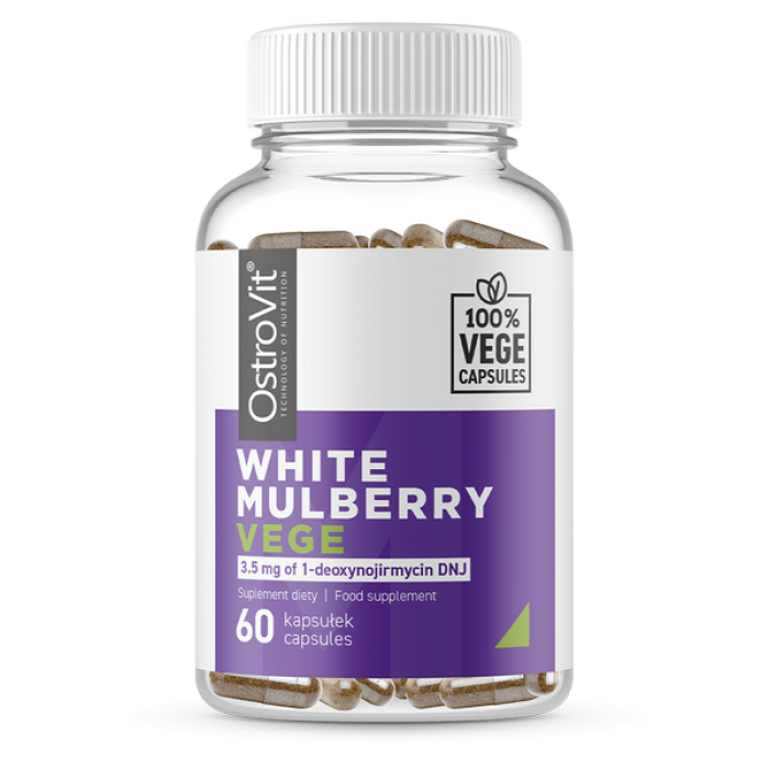 OstroVit White Mulberry / Vege - 60caps