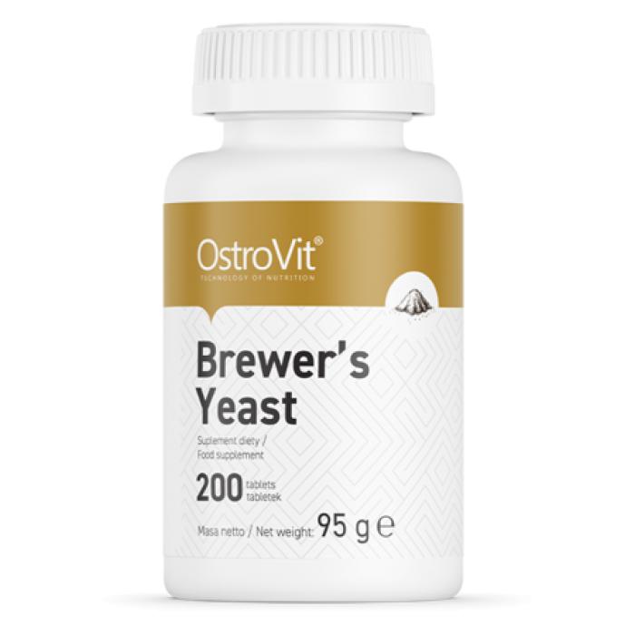 OstroVit - Brewer's Yeast 400 mg / 200 tab
