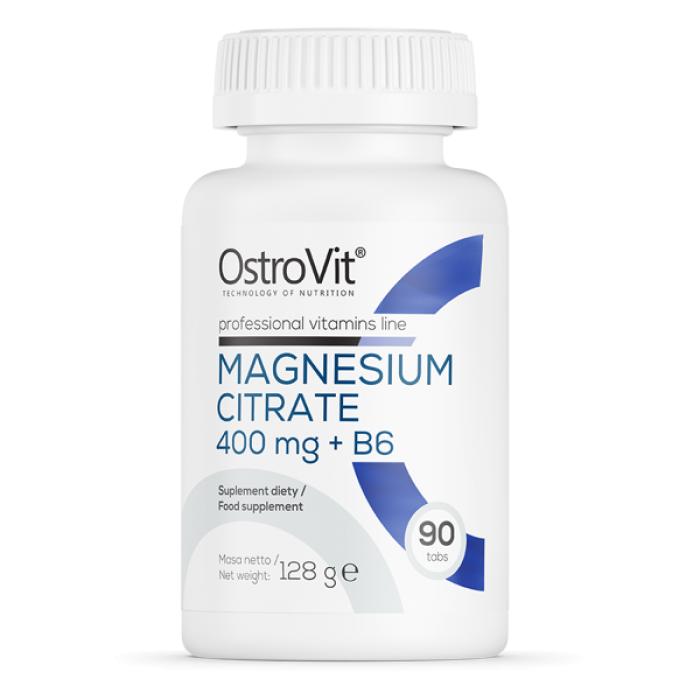 OstroVit -  Magnesium Citrate 400 mg + B6 / 90 tab