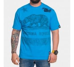 Pit Bull CAL Flag - тениска Тениски