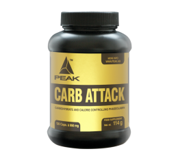Peak - Carb Attack / 120 caps
