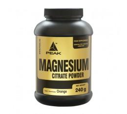 Peak - Magnesium Citrate / 240 gr. Хранителни добавки, Витамини, минерали и др., Магнезий