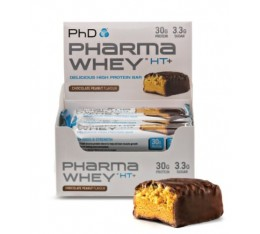 PhD - Pharma Whey HT+ Bar / 12 x 75 gr.