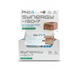 PhD - Synergy ISO-7 Bar / 12 x 70 gr. Хранителни добавки, Протеинови барове и храни