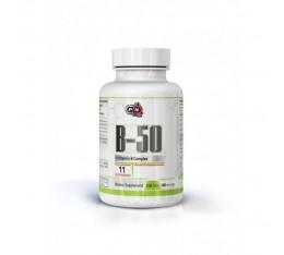 Pure Nutrition - Vitamin B-50 / 100 tabs. Хранителни добавки, Витамини, минерали и др., Витамин B
